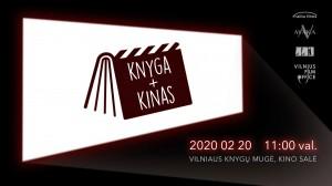 Vilniaus knygų mugėje pristatomos knygos, galinčios virsti filmais