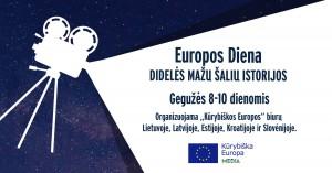 Europos dieną švęskite žiūrėdami Lietuvos, Latvijos, Estijos, Slovėnijos ir Kroatijos filmus