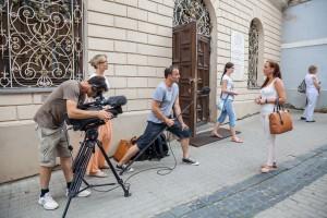 Vilniaus mieste atnaujinami filmavimo darbai